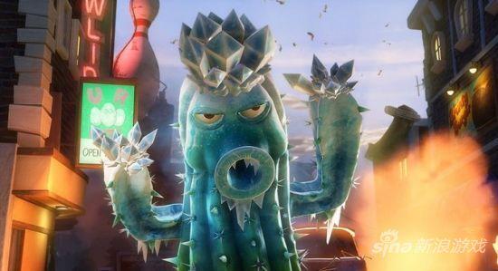Plants vs. Zombies:Garden Warfare《植物大战��尸 花园战争》游戏截图