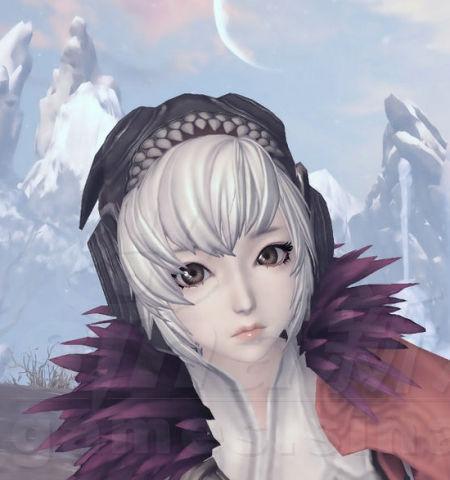 剑灵人族女捏脸数据 银色短发可爱女生