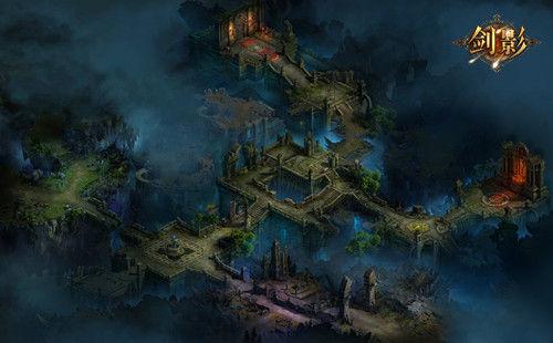 充满神秘色彩的暗影城堡