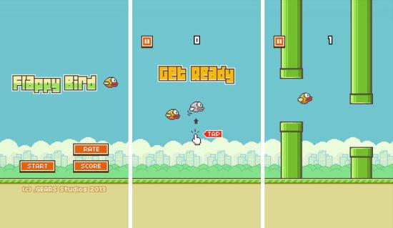 Flappy Bird无疑是近期最热门的游戏