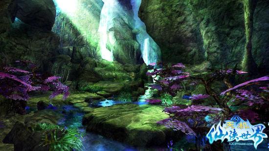《仙侠世界》最唯美的风景壁纸曝光_网络游戏仙侠世界