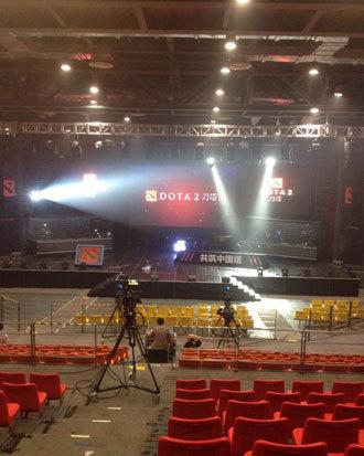 dota2发布会场馆内部细节