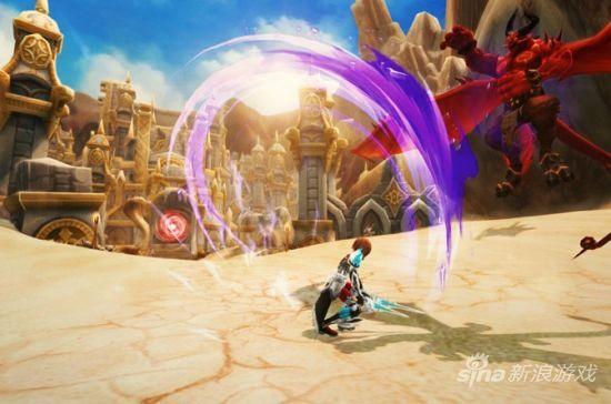 《幻想神域》战斗截图