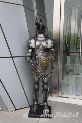 大楼门口的守护神