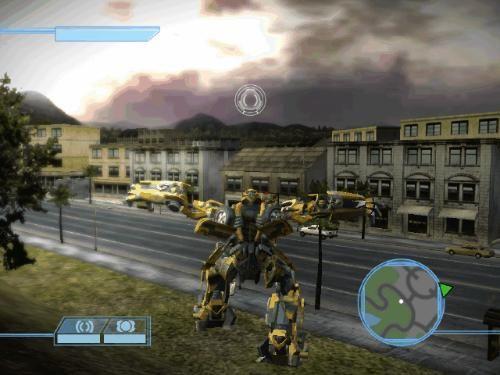败威震天拯救全人类;但如果玩家 威震天杀了擎天柱,夺去了火种源