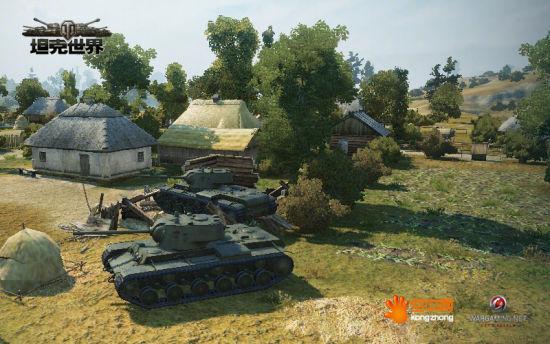 钢铁的死斗《坦克世界》地图普罗霍洛夫卡古今谈