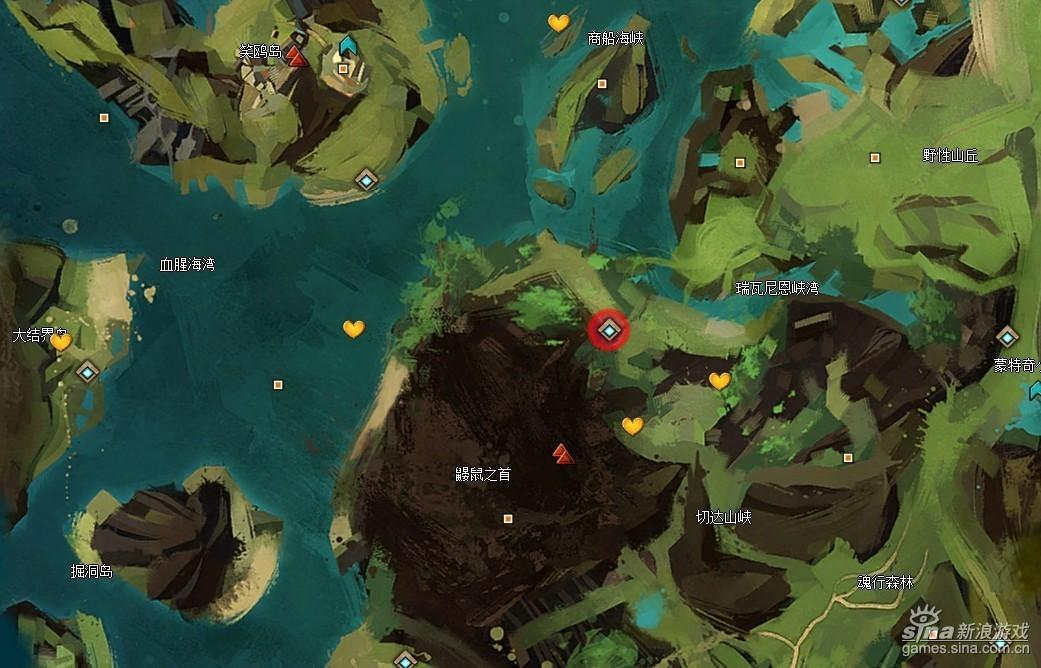 激战2世界BOSS进化巨型丛林地虫刷新传送点