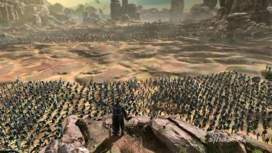 《炽焰帝国2》多兵种配合