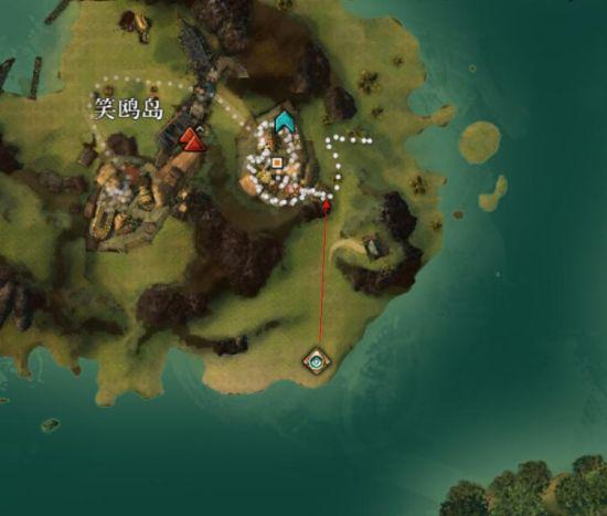 激战2血潮海岸笑鸥岛观景点观览路线