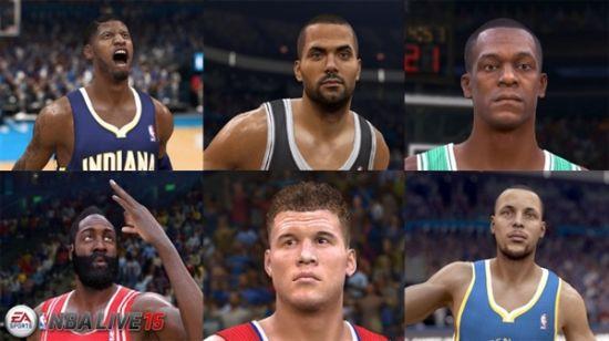 《NBA Live 15》截图视频公开