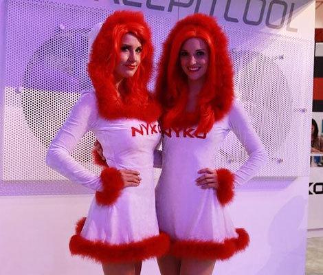 E3 2014:美女showgirl