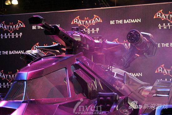 E3 2014:华纳游戏展区超酷蝙蝠侠座驾