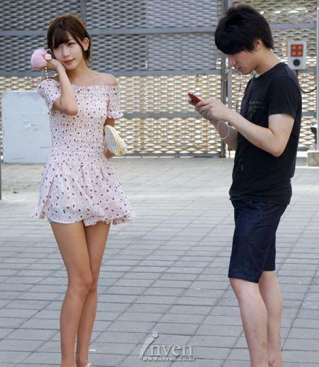 中国的美女很多