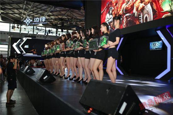 ChinaJoy暴雪展台现场图赏
