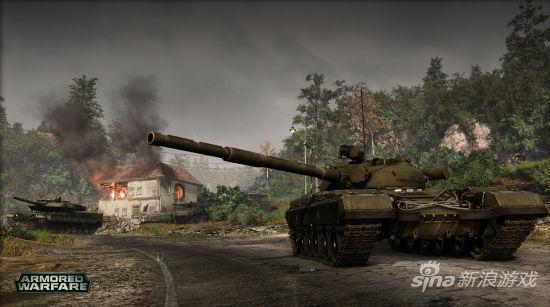 《装甲战争》坦克展示