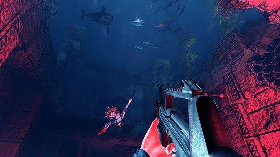 扮演鲨鱼撕咬人类 创意新游《depth》即将发布