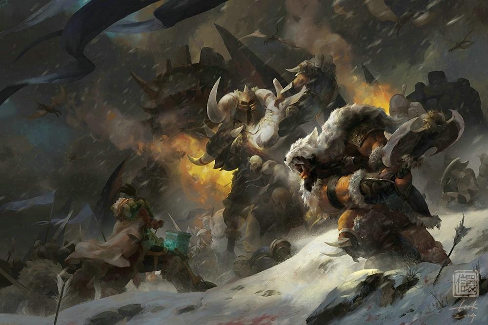 魔兽世界德拉诺之王美术作品大赛