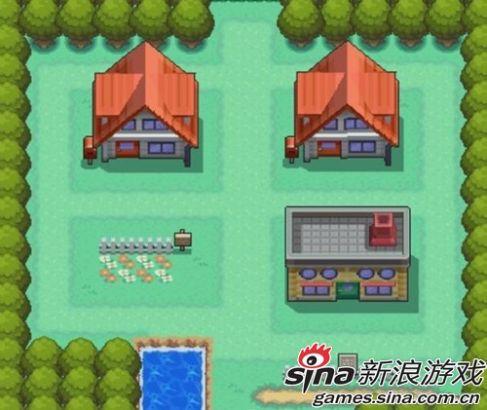 游戏中的真新镇