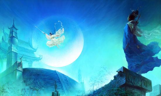 中国文化为背景的角色扮演游戏以其感人的剧情,唯美的画面,绚丽的战斗图片