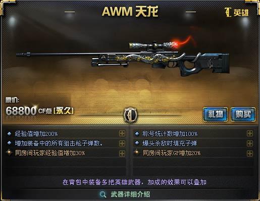 AWM-天龙