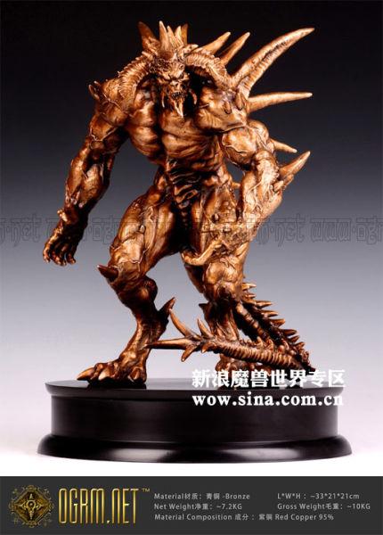 大菠萝DIABLO青铜雕刻作品