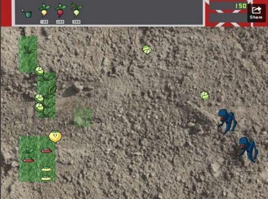 植物大战僵尸早期的原型设计