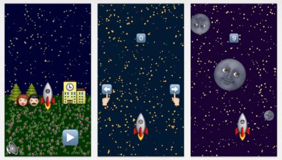 俄罗斯学生研发iphone游戏 全由表情符号组成图片