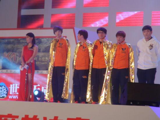 冠军战队:橘子熊战队