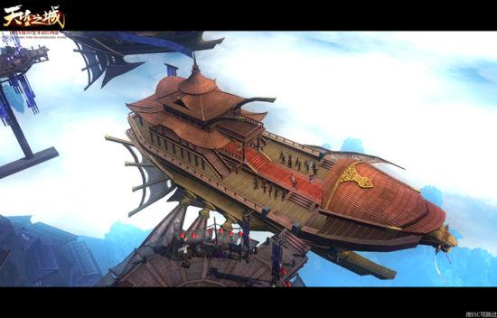 IMAX级3D网游《天空之城》试玩评测