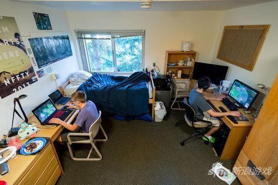 外国大学宿舍