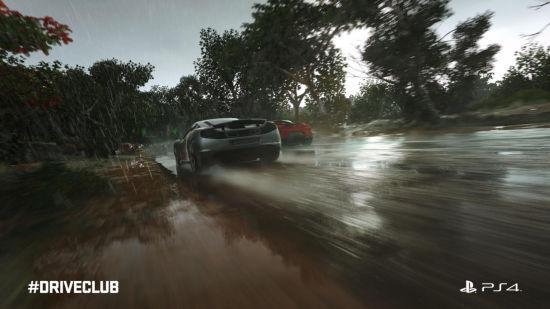《驾驶俱乐部》加入天气补丁后画面有很大提升