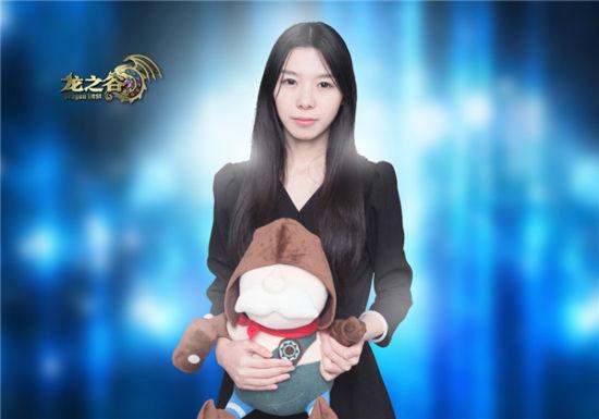美女游戏解说小楼介绍了自己跟《龙之谷》