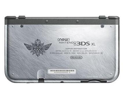 《怪物猎人4》限量版3DS XL