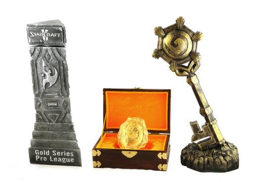 发布奖杯及炉石
