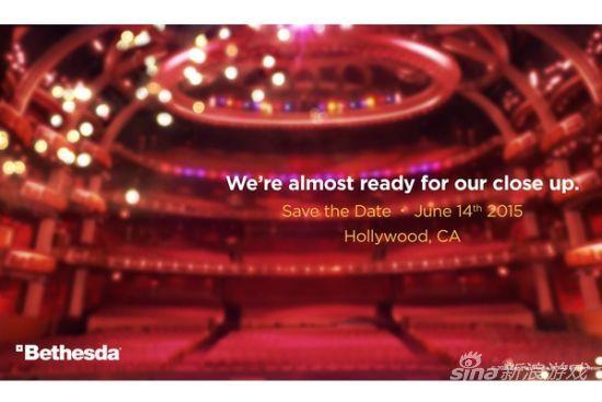 Bethesda宣布E3将开发布会