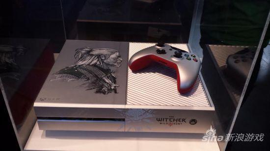 《巫师3:狂猎》主题的限定版Xbox One