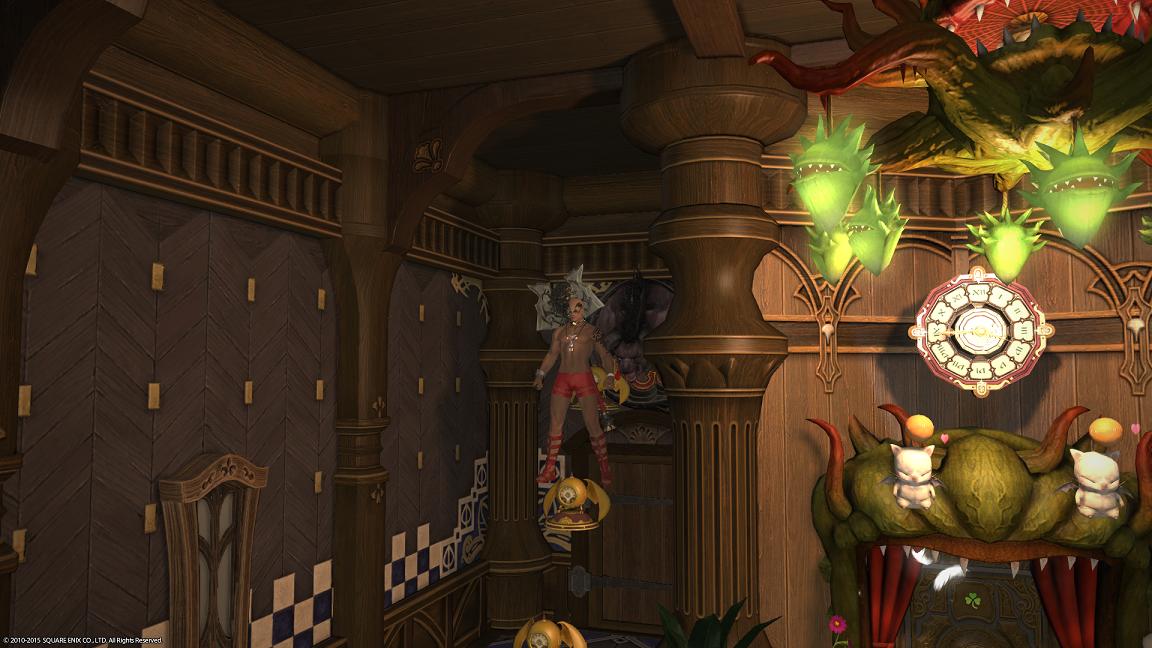 最终幻想14小户型房屋装修