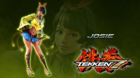 《铁拳7》新角色Josie Rizal