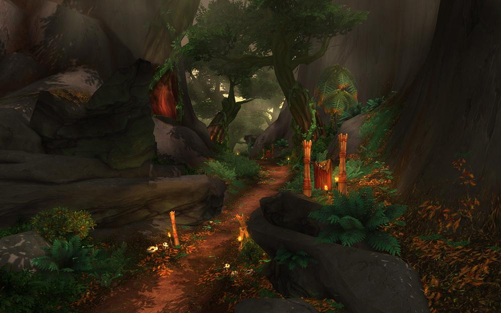 魔兽世界6.2PTR补丁预览 新地图塔纳安丛林介绍
