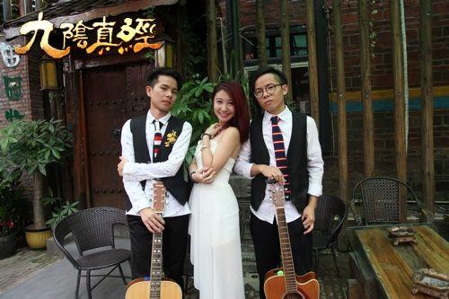 广州主题曲演唱活动现场