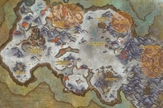 霜狼兽人杀怪声望获得地图