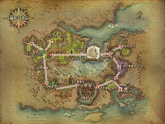 永恒之塔魔族低级地图及场景图解