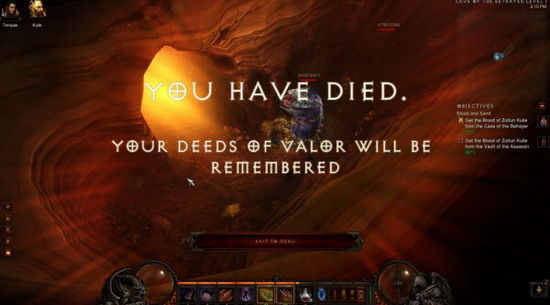 你已经死了,你的功勋将被世人铭记。