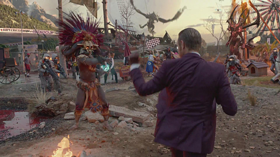 PS4真人广告:现实版巫医与Diablo现身