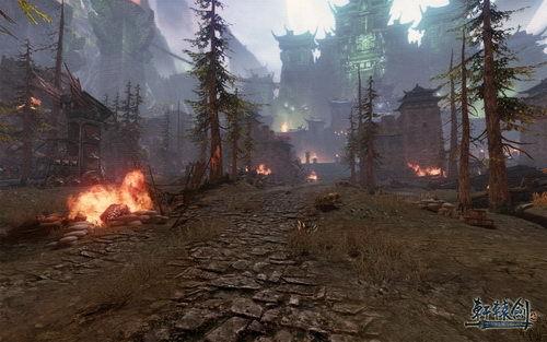 《轩辕剑7》最新研发中画面
