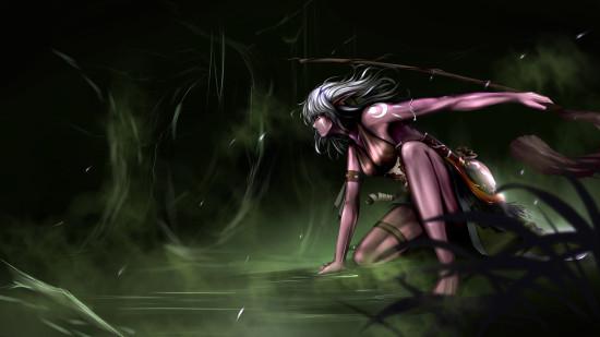 玩家原创小德四系手绘-新浪魔兽世界专区