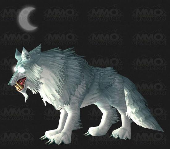 魔兽5.4暗月岛新月牙狼BOSS 掉落新宠物与幻化拳套