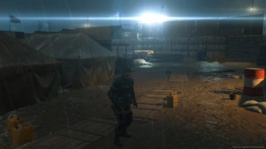 《MGS V》画质对比:PS4无悬念胜出