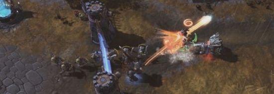 《风暴英雄》英雄技能图示 巫妖王召唤巨大冰龙