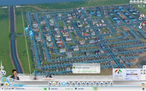 《模拟城市5》多人地图三一峡图文详解